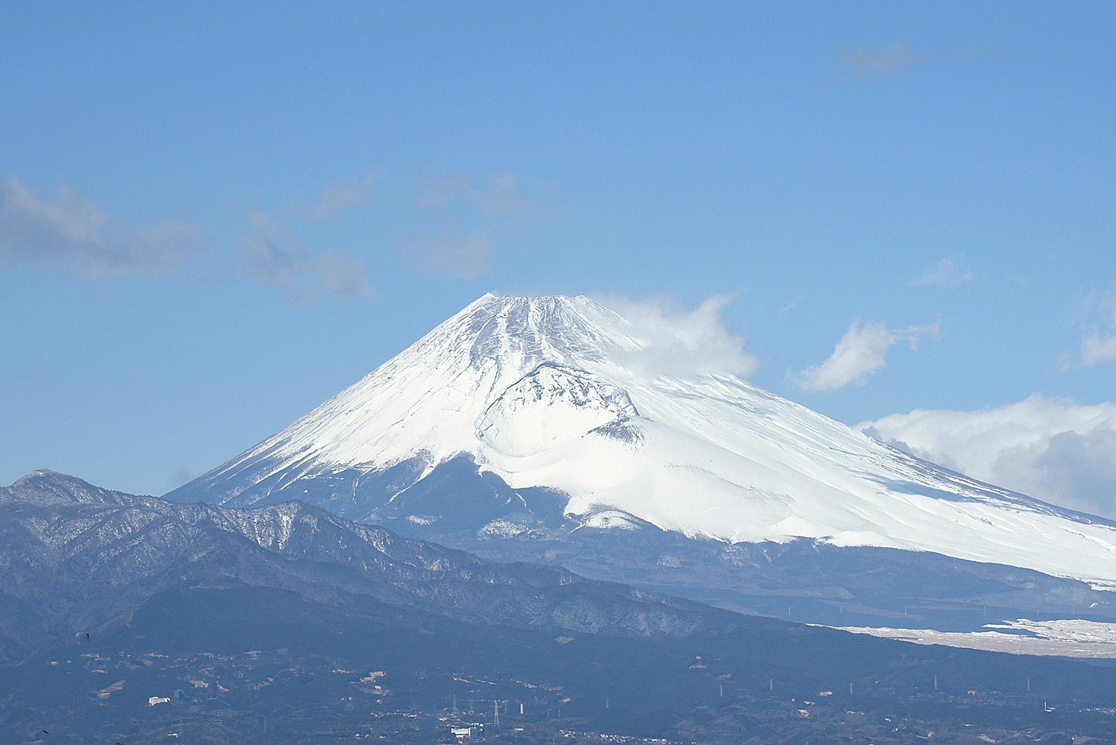 2016/01/24の富士山