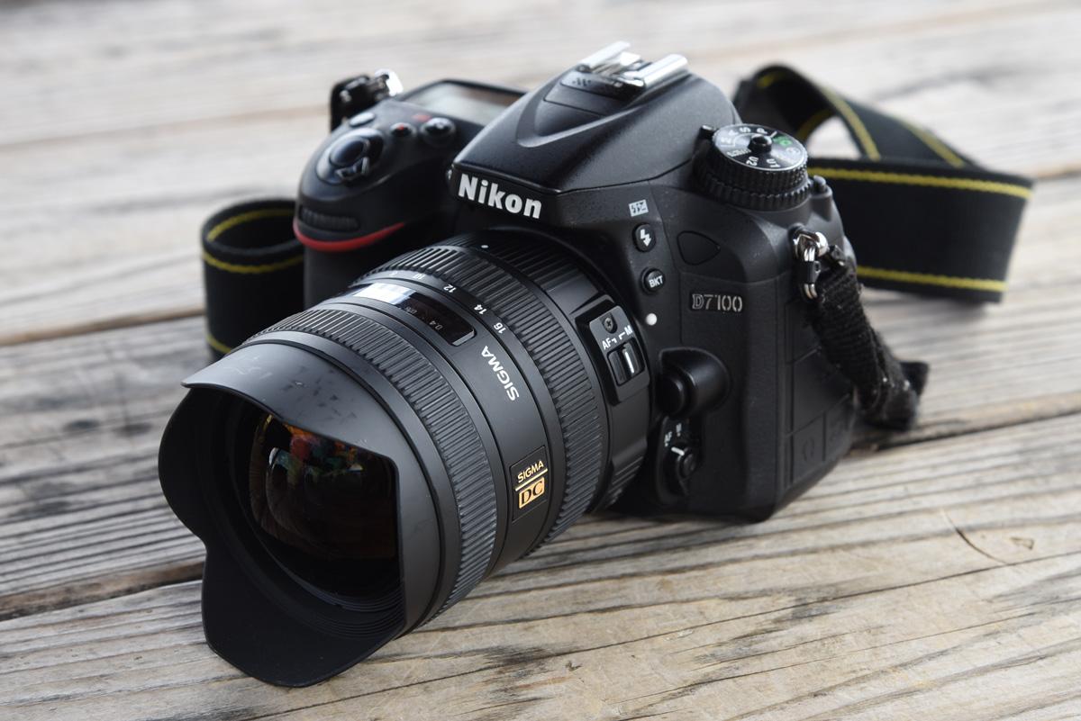 D7100 & SIGMA 8-16mm