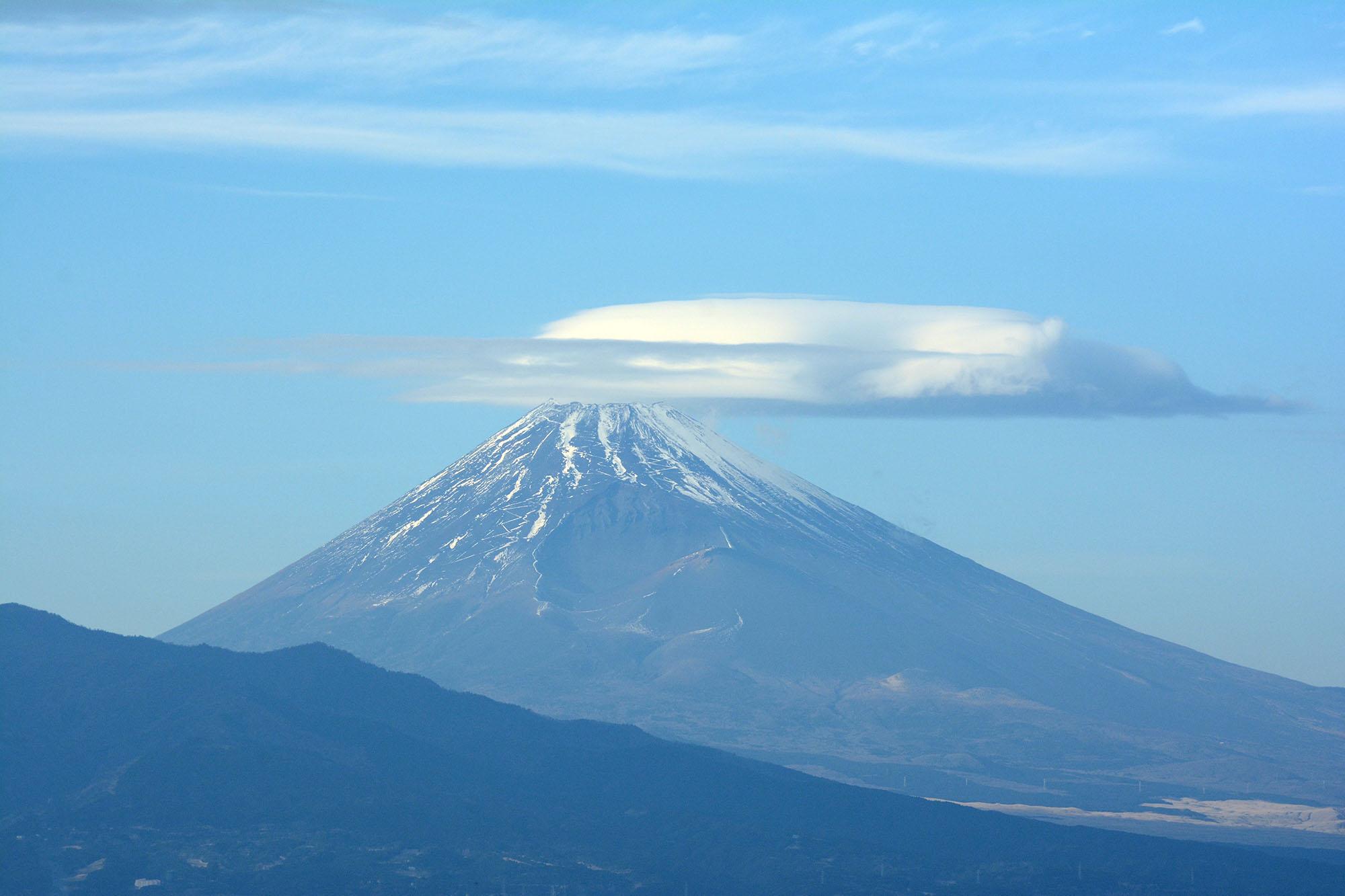 2016/01/08の富士山